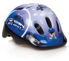 BIKEFUN DUCKY gyermek fejvédő kék XS-es 44-48 cm rendőrautós MV6-2K