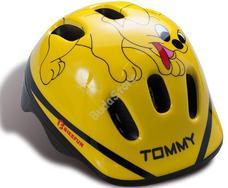 BIKEFUN DUCKY gyermek fejvédő sárga XS-es 44-48 cm kacsás MV6-2S