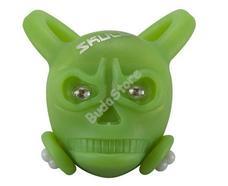 BIKEFUN Skully első villogó lámpa zöld SS-L324W-GREEN