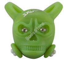 BIKEFUN Skully hátsó villogó lámpa zöld SS-L342R-GR