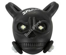 BIKEFUN Skully hátsó villogó lámpa fekete SS-L342R-BLK