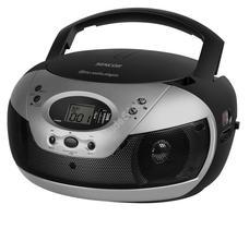 SENCOR SPT229B fekete Hordozható MP3-as Cd rádió USB SPT 229 B