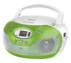 SENCOR SPT229GN zöld Hordozható MP3-as Cd rádió USB SPT 229 GN