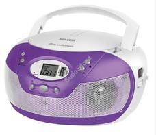 SENCOR SPT229PU lila Hordozható MP3-as Cd rádió USB SPT 229 PU