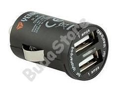 YENKEE YAC 2002 Autóstöltő kettős USB csatlakozóval 2000mA