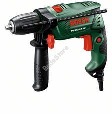 Bosch PSB500RE (CT) ütvefúró gyorstokmánnyal, kofferben 0603127020
