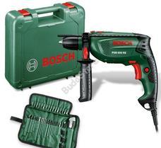 Bosch PSB650RE (CT) ütvefúró gyorstokmánnyal, kofferben, 39 részes tartozékszettel 0603128007