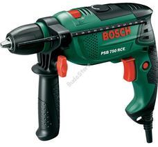 Bosch PSB750RCE (CT) ütvefúró gyorstokmánnyal, kofferben 15 részes X-line szettel 0603128502