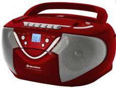 ROADSTAR RCR-4650 USMPR Hordozható CD-lejátszó Piros RCR4650USMPR