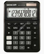 SENCOR SEC 372T/BK számológép fekete SEC372T/BK