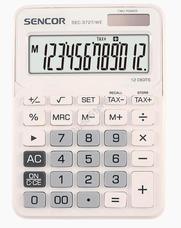 SENCOR SEC 372T/WE számológép fehér SEC372T/WE