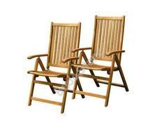 FIELDMANN FDZN 4001-T Dönthető kerti szék 2db/csomag FDZN4001