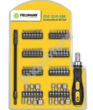 FIELDMANN FDS 1010-58R csavarkulcs készlet bitekkel 58 db-os FDS1010-58R