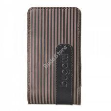 bugatti Twin striped Leather S 07731 álló tok 01-02-76620