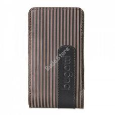 bugatti Twin striped Leather M 07604 álló tok 01-02-76621
