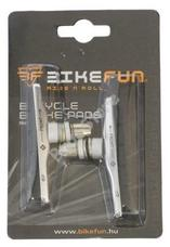 BIKEFUN Fékpofa 72 mm menetes ezüst Cartridge 73913AR