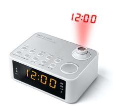 MUSE M-178 PW Ébresztőórás rádió fehér M178PW