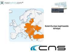 CNS MAP8 frissítő kártya Kelet-Európa 02-05-55794