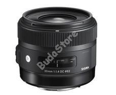 SIGMA 30 mm F2,8 DN nagylátószögű objektív s33B963