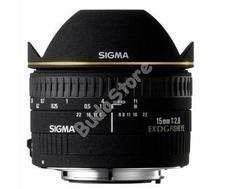 SIGMA 15mm F2,8 EX DG DIAGONAL FISH-EYE objektív s476927