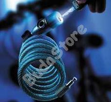 BURG WACHTER 340 L biciklizár világító kulccsal 340 180