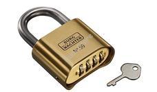 BURG WACHTER rozsdamentes biztonsági számzáras lakat No. 99