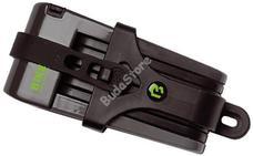 BIKEFUN X-1-BF X-Safe folding 70 cm tartóval fekete X1BF