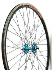 Kerék első 700 Fixi kék 15734