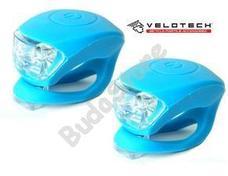 VELOTECH Villogó szett 2LED kék 34688