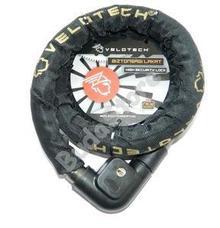 Velotech Lakat láncos 22x1500mm görgős fekete 39902