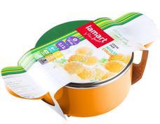 LAMART LT1031 Tapadásmentes edény fedővel narancssárga