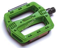 BIKEFUN Pedál Deck platform műanyag zöld