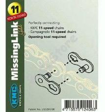 KMC biciklilánc patentszem 11/128 11 speed 2db/csomag CL555