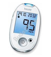 BEURER GL 44 mmol / L vércukorszintmérő fehér GL44