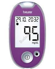BEURER GL 44 mmol / L vércukorszintmérő lila GL44