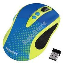 HAMA 86545 Színes optikai egér Knallbunt 2.0 sárga/kék