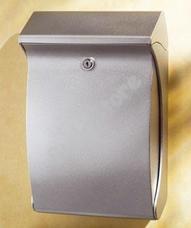 BURG WACHTER Swing 4906 kültéri műanyag postaláda ezüst