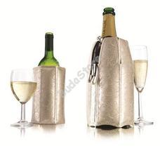 Vacu Vin bor és pezsgőhűtő mandzsetta szett Platinum 8960381