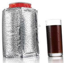 Vacu Vin dobozos ital hűtő mandzsetta ezüst 8960487