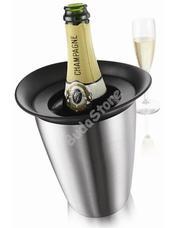 Vacu Vin pezsgőhűtő Elegant inox 8960421