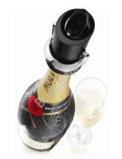 Vacu Vin pezsgősüveg záró fekete 8960403