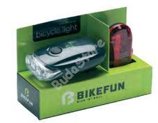 BIKEFUN BLAZE biciklilámpa szett JY-567+JY366T
