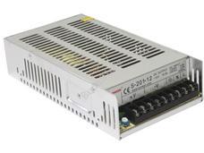 SUNWOR S-200-12 Stabilizált kapcsolóüzemű tápegység 12VDC 16,5A S20012