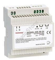 SUNWOR DR-30-12 DIN sínre szerelhető kapcsolóüzemű tápegység 12 VDC 2 A DR3012