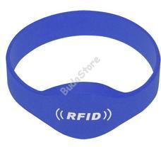 SOYAL AM Wristband No.2 13.56 MHz kék Proximity szilikon karkötő