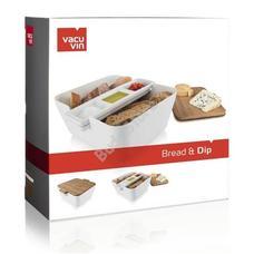 Vacu Vin kenyértartó és szósz tálaló 8960620