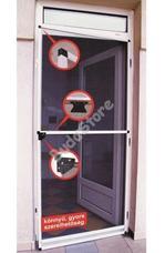 JKH Rovarháló alu kerettel 120x240 cm ajtóra fehér 8911453