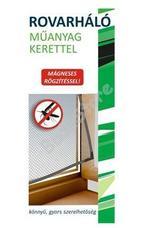 JKH Rovarháló műanyag kerettel mágneses 130 x 150 cm fehér 8911455