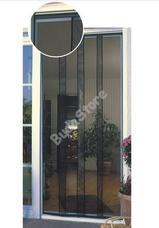 JKH Rovarvédő függöny polyester 4 részes sínes 90 x 215 fekete 8911326
