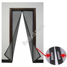 JKH Rovarvédő függöny polyester mágneses 2 részes 100 x 210 fekete 8911342